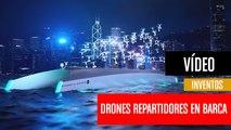 [CH] Drones repartidores desde barcazas en los ríos
