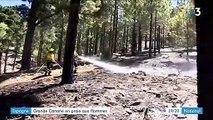 Grande Canarie : un incendie provoque l'évacuation d'habitants et de touristes