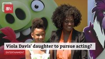 Viola Davis' Daughter Joins Hollywood