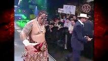 Kane vs Umaga w/ Armando Alejandro Estrada + Umaga Saves Estrada From Kane Backstage! 9/18/06