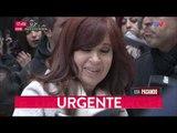 Cristina Kirchner se reunió con Alberto Fernández y se fue sin hablar con la prensa