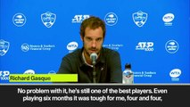 (Subtitled) 'Murray is a legend, I hope he recovers' - Gasquet
