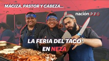 Maciza, pastor y cabeza... la Feria del Taco en Neza