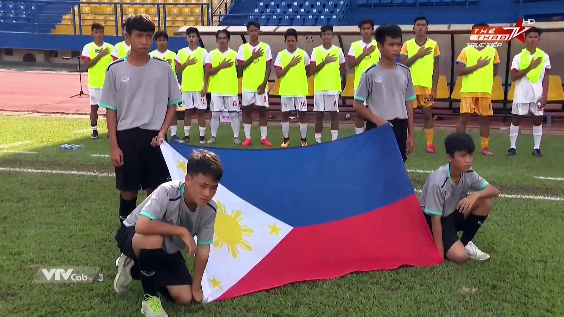 Live   U18 Indonesia - U18 Laos   AFF U18 Next Media Cup 2019   VFF Channel