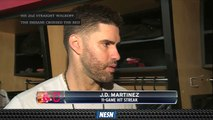 J.D. Martinez Focuses On Keeping Clubhouse Loose Amid Struggles