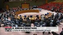 S. Korea hit hardest by N. Korean cyberattacks: UN report