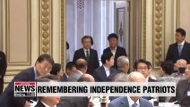 Pres. Moon invites independence patriots for luncheon at Cheong Wa Dae