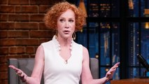 Kathy Griffin Gave a Speech About the First Amendment at the University of Oxford