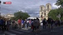 Notre-Dame : début des travaux de décontamination