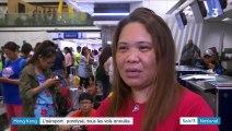 Hong Kong : l'aéroport envahi par les manifestants, le trafic paralysé