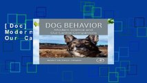 [Doc] Dog Behavior: Modern Science and Our Canine Companions