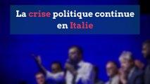 Crise politique en Italie: une semaine décisive