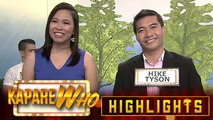 Kim Tune happily chooses Hike Tyson as her KapareWHO | It's Showtime KapareWHO