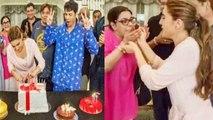 Sara Ali Khan celebrates her birthday with mother Amrita & Varun Dhawan; Check out | FilmiBeat
