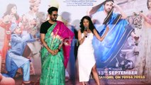 Nushrat Bharucha Compares her Looks With Ayushmann Khurrana's Saree Look