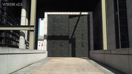L'ouverture de la porte d'honneur - Bercy