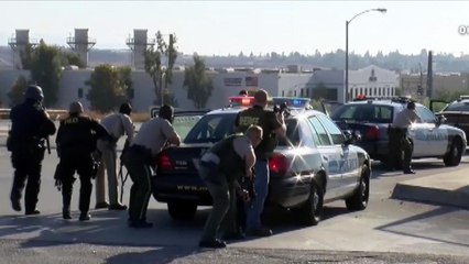 Eye Opener: Traffic stop in California erupts into chaos