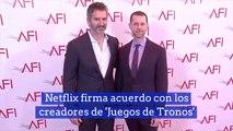 Netflix firma acuerdo con los creadores de 'Juegos de Tronos'