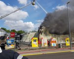 Un incendie ravage le magasin But de Bar-le-Duc