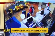 San Isidro: balean a turista austriaco para robarle costoso reloj