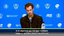 Cincinnati - Murray ne disputera pas le simple à l'US Open
