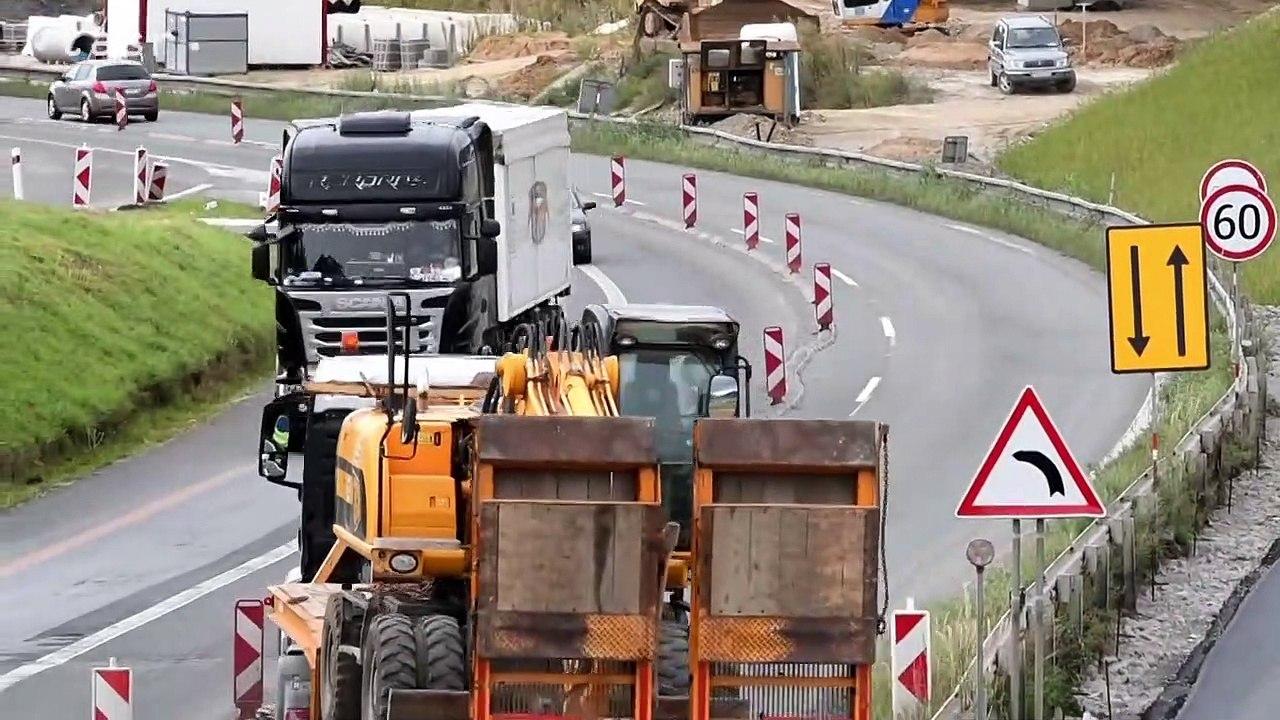 Prešov: Výstavba križovatky juh pri výjazde z Prešova na Košice
