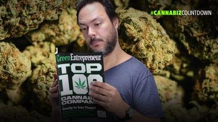 Cannabiz Countdown: Entrepreneur Names the Top 100 Cannabis Companies (60-Second Video)