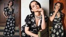 Kangana Ranaut looks beautiful at success bash for Judgementall Hai Kya; Watch Video   FilmiBeat