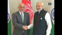 PM Modi Holds Bilateral Talks With Afghan President Ashraf Ghani At Heart Of Asia Conference