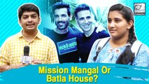 Here's How People Reacted On The Big Clash Of Mission Mangal & Batla House