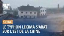 Typhon Lekima: plus de 49 morts et 21 disparus après l'arrivée du typhon sur les côtes chinoises