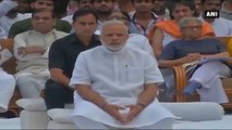 PM Attends Mahatma Gandhi's Commemorative Event At Gandhi Smriti