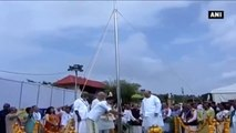 Watch- PM Modi Hoists Party Flag On Day 3 Of BJP National Council Meeting