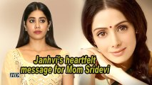 Janhvi's heartfelt message for Mom Sridevi on her 56th birth anniversary