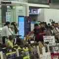 Deuxième journée de chaos à l'aéroport de Hong  Kong