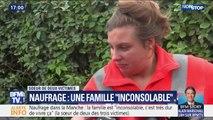 """Naufrage dans la Manche: """"C'est très dur de vivre ça"""", témoigne la sœur de deux des trois victimes"""