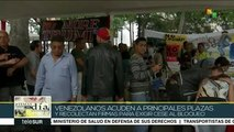 Venezolanos exigen con campaña de firmas cese del bloqueo de EE.UU.