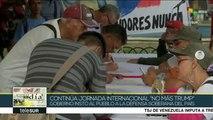 Temas del Día: Venezuela: firmas para exigir cese al bloqueo