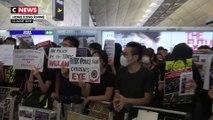 Manifestations à l'aéroport de Hong Kong