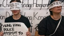 Violent crackdown on Hong Kong protests amid concerns about mass surveillance