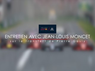 Entretien avec Jean-Louis Moncet sur le transfert de Pierre Gasly