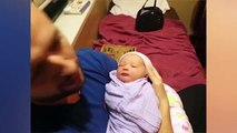 Parents Are HERO - What MARVELOUS Things Happens ★ Dad And Newborn Baby