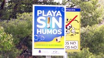 La Cala Retor, la primera playa libre de humos en la Comunidad Valenciana