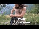 Il imite l'homme de Néandertal pour apprendre à survivre en pleine nature