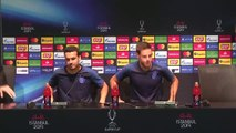 Pedro and Azpilicueta talk on eve of UEFA Super Cup against Liverpool