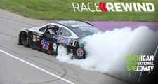 Race Rewind: Harvick captures the flag again in Michigan — watch highlights in 15 minutes