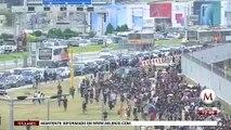 Por protestas pro democracia, cierran el aeropuerto de Hong Kong