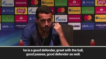 (Subtitled) Van Dijk and Ramos 'the best defenders' says Chelsea's Pedro ahead of UEFA Super Cup final