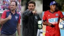 Veja ex-jogadores que viraram técnico e estão em atividade no Brasil