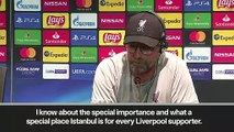 (Subtitled) Klopp on 'special' Istanbul and favourites tag for UEFA Super Cup